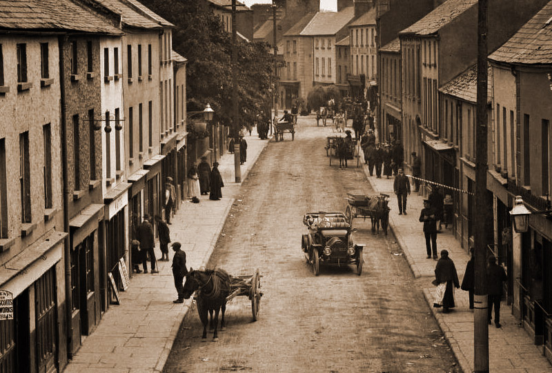 A Step Back in Time - Athy in 1916